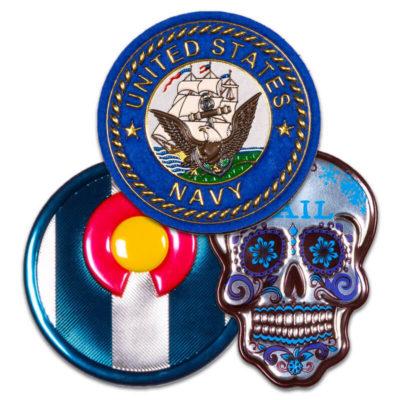 TPU Badges   Embroidery Badge