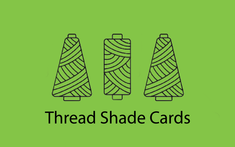 Thread shade cards